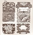 antique style vector image vector image