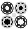 Set of Ethnic Circle Elements Mandala Round Orname vector image vector image