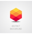 Abstract shape background vector image