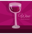 colorful wine background concept vector image