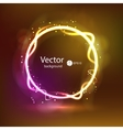 Abstract dark glowing background Super new vector image