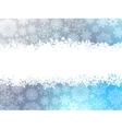 Snowflake christmas with white snow flake EPS 8 vector image