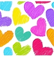 love seamless background vector image vector image