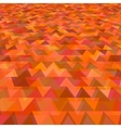Abstract background with triangular pattern vector image