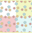 pattern with flowers pattern with flowers vector image