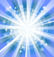 Bright background with rays2 vector image