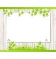 Wall with a piece of paper vector image vector image