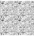 Sleep time - seamless backgound vector image