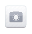 White camera icon Eps10 Easy to edit vector image
