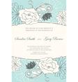 Invitation wedding card Vector Image