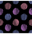 Seamless pattern of pencil strokes vector image