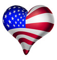 american hearts and minds vector image