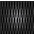 black metal dot perforated texture vector image