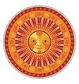 Decorative Summer Mandala vector image vector image