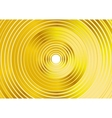 Abstract golden rings background vector image
