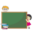 child school vector image