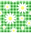 Chamomiles background vector image vector image