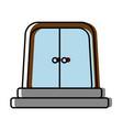 elevator door icon vector image