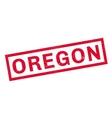 Oregon rubber stamp vector image