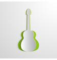 paper guitar vector image