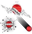 Sport emblem logo vector image