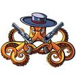 octopus the bandit vector image