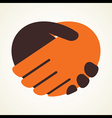 handshake icon stock vector image