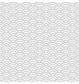 Gray and white japanese seamless pattern vector image