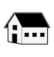 farm house symbol vector image