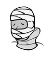 Fracture medical injury icon vector image