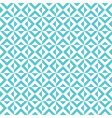 tile cross pattern background vector image
