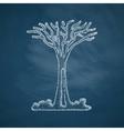 singapore tree icon vector image