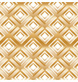 gold modern pattern with rhombuses vector image