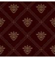 Royal seamless wallpaper vector image vector image