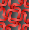 bound red tape seamless pattern vector image