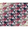 Roses Vintage seamless pattern background vector image