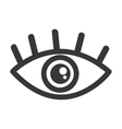 eye human view icon vector image