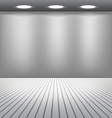 Empty Room vector image