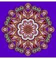 violet colour mandala vector image