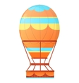 Aerostat Balloon hot air vector image