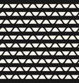 geometric stripes pattern horizontal wavy lines vector image