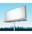 highway ad billboard roadside vector image