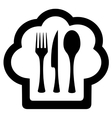 restaurant isolated symbol vector image