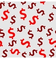 Money sign seamless pattern background vector image vector image