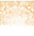 Bokeh Christmas background vector image vector image