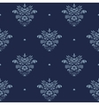 Vintage damask luxury pattern vector image