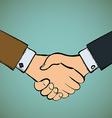 handshake Stock vector image