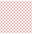 Different floral seamless patterns tiling vector image vector image