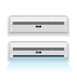 air conditioner isolated vector image