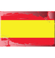 spain national flag vector image